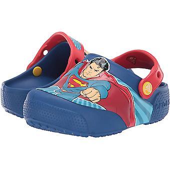 Crocs Kids' Boys and Girls Superman Light Up Clog