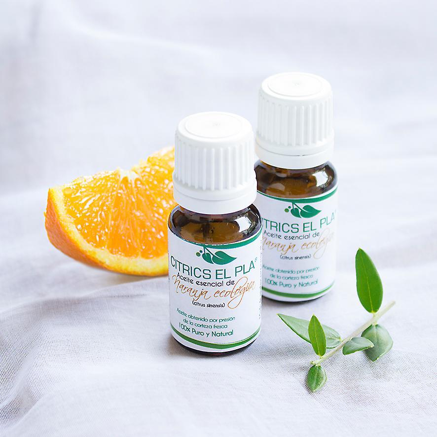 Aceite esencial de naranja ecológico  10 ml