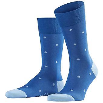 Falke dot sokker-Paris blå