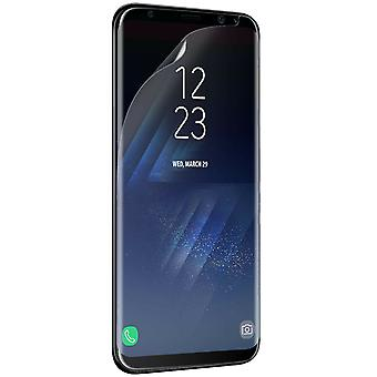Official Samsung Galaxy S8+ Screen Protector - Pack of 2 - ET-FG955CTEGWW/GH98-41514A - Bulk Packed