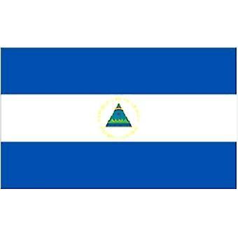 Nicaraguas flagg 5 ft x 3 ft med hull For hengende