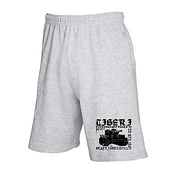Pantaloncini tuta grigio wtc0802 tiger i