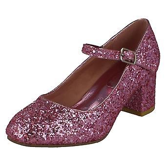Piger spot på Heeled sparkly Dolly sko