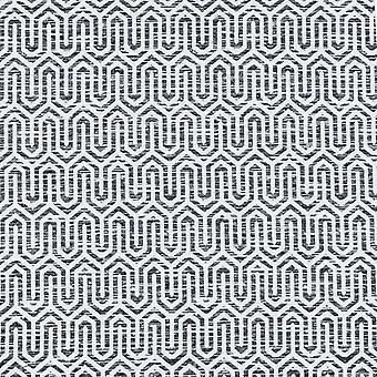 Mcalister Textilien costa rica schwarz + weiß Stoff