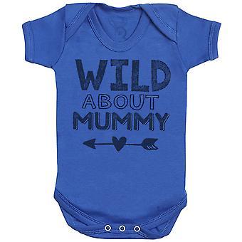Wild About Mummy Baby Bodysuit - Baby Gift