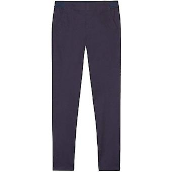 French Toast Girls' Big Pull-On Pant, Dark Navy, 16