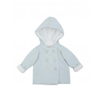 The Little Tailor Plush Lined Pram Coat