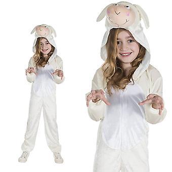 Schapen, witte schapen lam lam kind kostuum ééndelig schaap kostuum