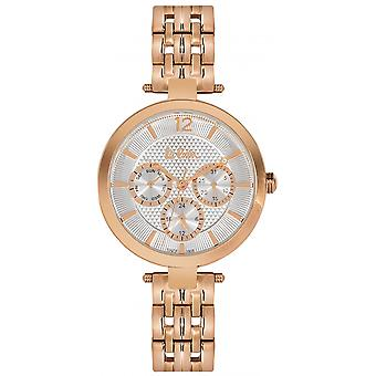 Shows Lee Cooper-LC06241-430 - steel Dor pink dial silver woman