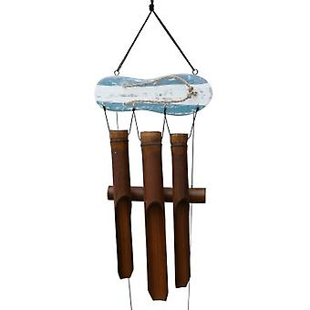 Red Sandal Bamboo Wind Chime