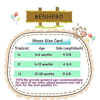 BENHERO Baby Infant Girls Soft Sole Floral Princess Mary Jane Shoes Prewalker...