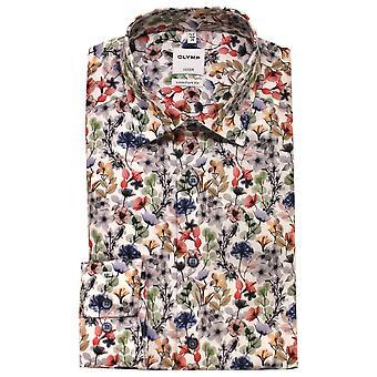 OLYMP Olymp White Shirt 1038 54 35