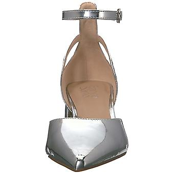 Franco Sarto Womens F3126M1 Leather Pointed Toe Ankle Strap Classic Pumps