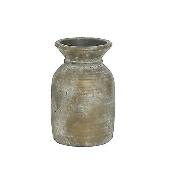 Lys & Levende Vase Deco 19x29.5cm Tambora Keramikk Bronse