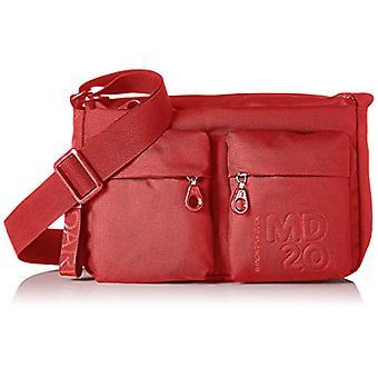 Mandarin duck Md20 Minuteria - Red Women's Shoulder Bags (Flame Scarlet) 9x18x28 cm (B x H T)