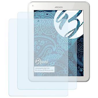Bruni 2x Schutzfolie kompatibel mit Archos 97 Platinum HD Folie