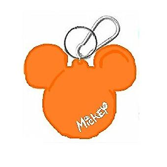Key Chain - Disney - Mickey Icon (Assort. Color) - Coin Holder 25053