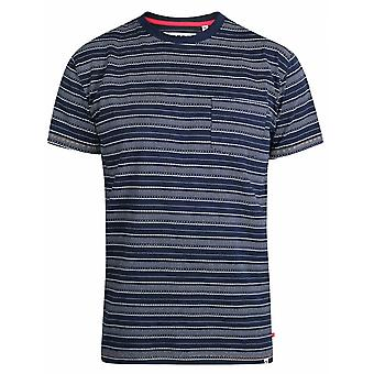 DUKE Duke Embroidered Stripe T Shirt