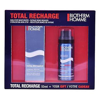 barbering sett homme total oppladning biotherm (2 stk)
