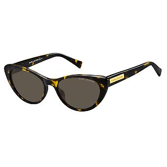 Marc Jacobs Marc 425/S 086/IR Dark Havana/Grey Sunglasses