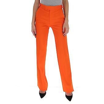 Attico 201wcp07w002033 Kvinnor's Orange Cotton Pants