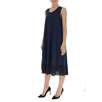 Gentry Portofino D549jeg0006 Women's Blue Cotton Dress
