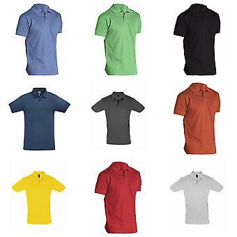 ЗОЛИ Мужская идеальный пике рубашки поло короткий рукав