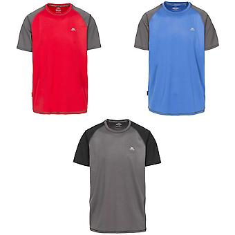 Trespass Mens Firebrat Short Sleeved Athletic T-Shirt