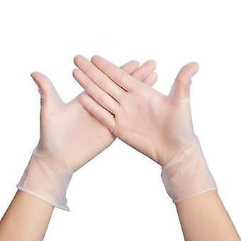 Disposable pvc bbq gloves waterproof antibacterial anti-virus