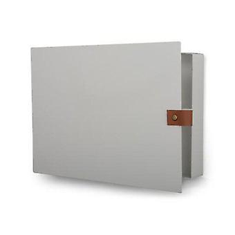 Nøgle kabinet metal hvid