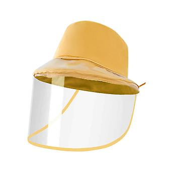 YANGFAN Anti Saliva Sun Hat Removable Protective Face Shield