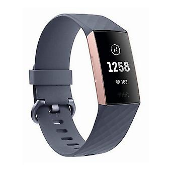 Activity Bangle Fitbit Charge 3 OLED Bluetooth 4.0 GPS/Blue