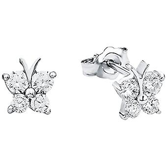 Amor Child 925 Silver White Zirconium Oxide FINEEARRING
