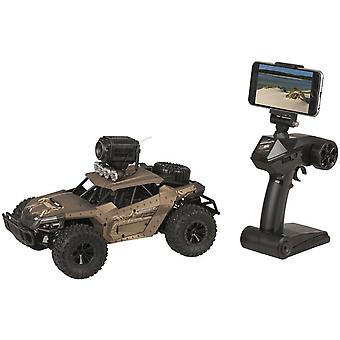 TechBrands 1:16 R/C Car with 720p Mini Camera and VR Goggles