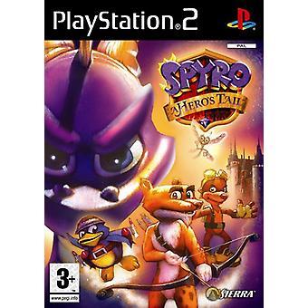 Spyro A Heros Tail (PS2) - Ny fabrik förseglad
