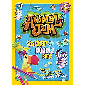 Animal Jam Sticker Doodle Book by National Geographic Kids - 97814263