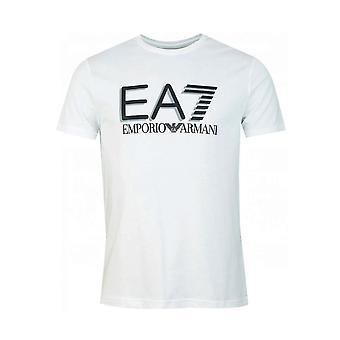 EA7 Emporio Armani Ea7 | Emporio Armani 3hpt81 Pjm9z Train Visibility Logo Half Sleeve T-shirt