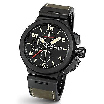 TW Steel ACE205 Spitfire Swiss Made automatic men's chronograph watch 46 mm