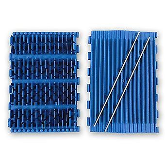 Aqua Products SK3016BL Rubber EZ Blue Brush - Set of 2 for Pool Cleaner