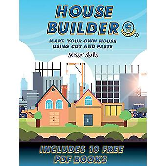 Scissor Skills (House Builder) - Build your own house by cutting and p