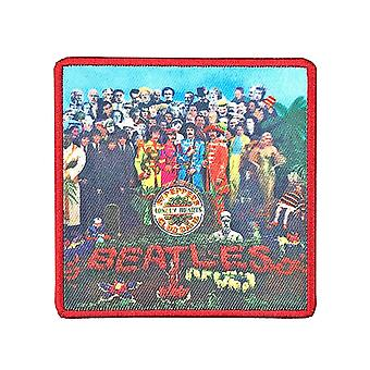 The Beatles Patch Sgt Peppers Album Cover new Official embroidered Iron on