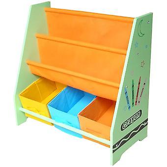 Kiddi Stil Crayon Sling Bücherregal