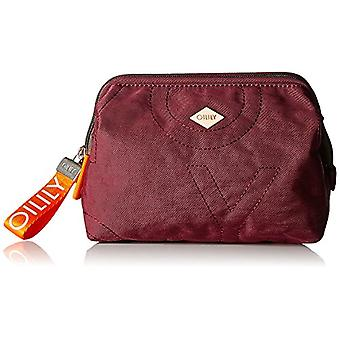 Oilily Spell Cosmeticpouch Mhz 3 - Donna Rot Day Clutch (Burgundy) 9x15x20 cm (B x H T)