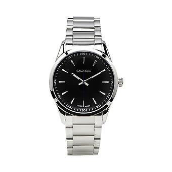 Calvin Klein K5A31141 Bold Quartz Movement Black Dial Men's Orologio