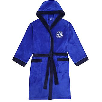 Chelsea FC offizielle Fußball Geschenk Herren Kapuze Fleece Dressing Kleid Robe