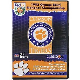 1982 Orange Bowl-Clemson vs Nebraska [DVD] USA import