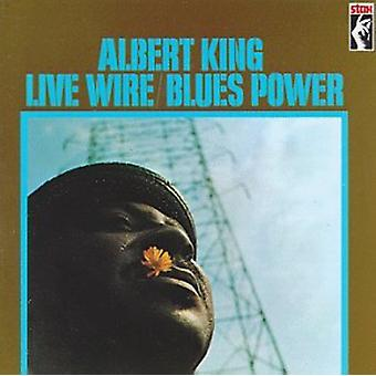 Albert King - Live Wire/Blues Power [CD] USA import