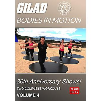 Gilad Bodies in Motion: 30th Anniversary Shows 4 [DVD] USA import