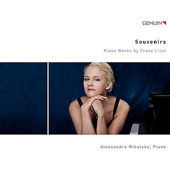 Liszt / Mikulska - Souvenirs [CD] USA import
