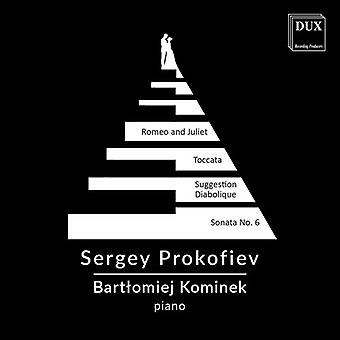 Prokofiev / Kominek - Sergey Prokofiev: Piano Recital [CD] USA import